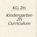 Kindergarten 2H Curriculum